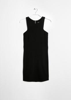 Vestido cóctel negro de Mango ( 17,99€ )