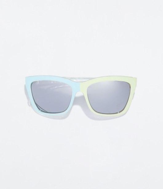 Gafas de sol bicolor de ZARA